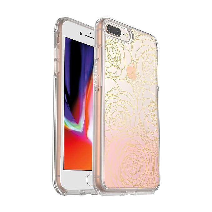 sale retailer c8eb3 98bb7 OtterBox Apple iPhone 8 Plus/7 Plus Symmetry Case – Camelia (Sleek Design)