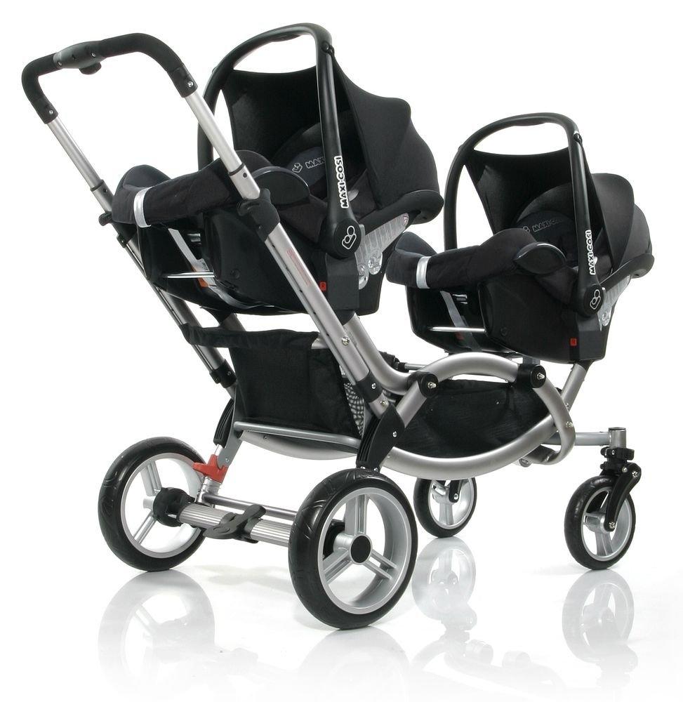 Zwillingskinderwagen abc  ABC Design - Maxi-Cosi / Cybex / Kiddy Adapter für Babyschalen ...