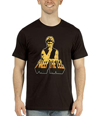 96633f4ac Amazon.com: Karate Kid Sweep The Leg Adult T-Shirt: Clothing