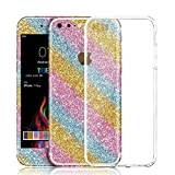 Best Skin STICKERs For IPhones - iPhone 7 Plus Sticker, Toeoe Bling Crystal Diamond Review