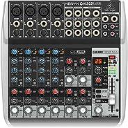 Behringer QX1002USB Premium 10-Input 2-Bus Mixer, KLARK TEKNIK Multi-FX Processor