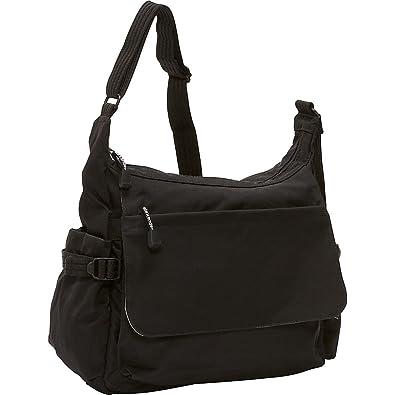 Derek Alexander EW Top Zip Crossbody w Flap (Black)  Handbags ... 30948149ca9eb