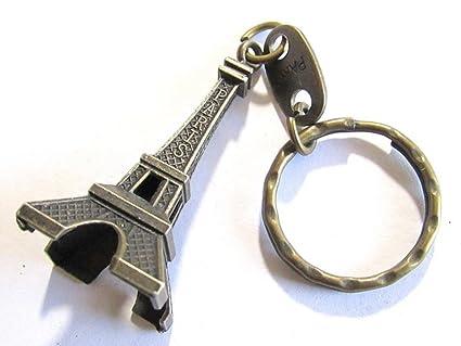 Cute adorno 3d torre Eiffel francés recuerdo París llavero ...