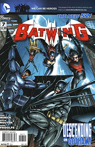 Batwing #7 VF/NM ; DC comic book