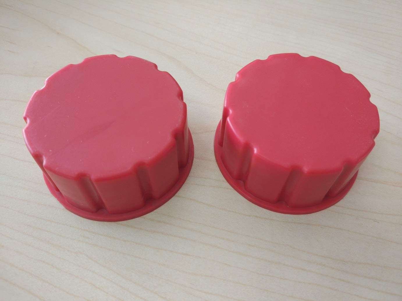 CM Concepts Gas Can Replacement Solid Caps-2 Pack