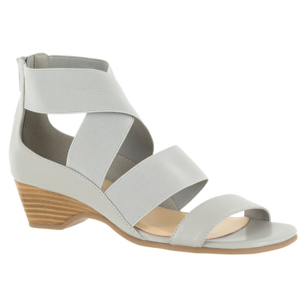 Bella Vita Women's Paloma II Wedge Sandal B019ACU3R8 6 W US|Light Grey