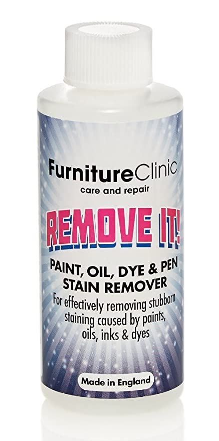 Furniture Clinic Paint Oil Dye Pen Stain Remover Safely Remove