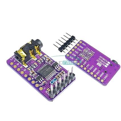 Amazon com: GY-PCM5102 PCM5102 I2S Interface DAC Decoder I2S Player