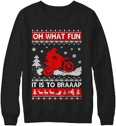: TeesNow Oh What Fun It is to Braaap Dirt Bike