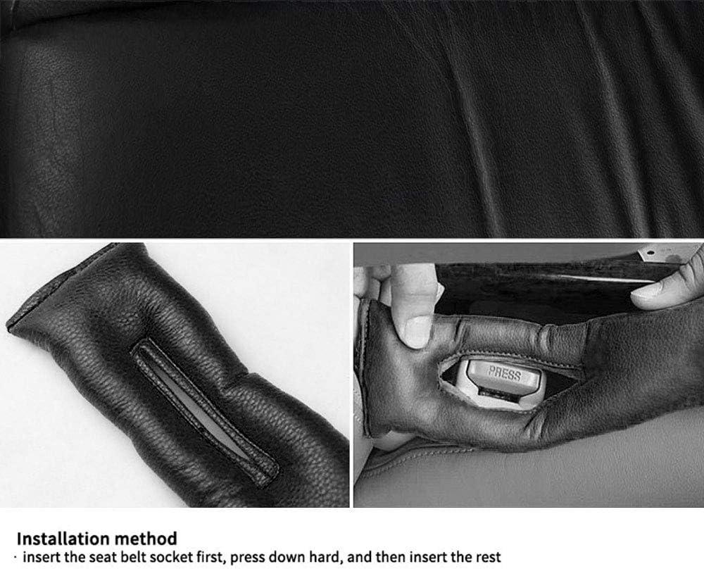 pour Tucson Si/ège de Voiture Gap Filler Pad,Rembourrage Coque de Protection Leakproof Pad Cuir de Les Holster Spacer Coussin Tampon Accessoires Auto 2 pi/èces Blanc