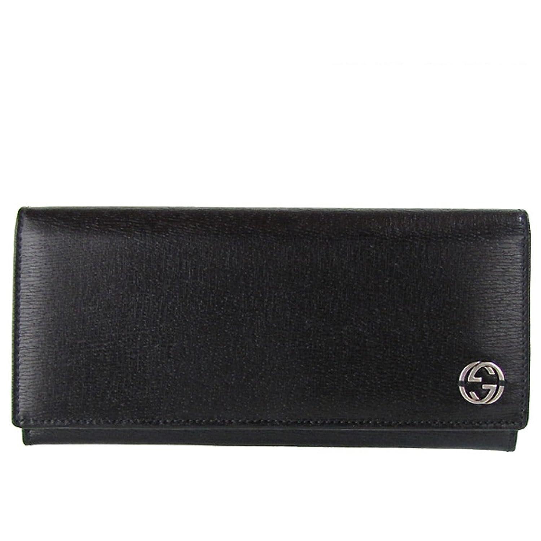 グッチ GUCCI 長財布 メンズ ブラック GGロゴ チェルシー 256348 ARU0N 1000 【並行輸入品】 B008KYGGL0