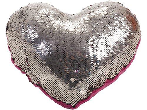 Cojín Corazón Lentejuelas 30 cm. Llopis 18171: Amazon.es ...