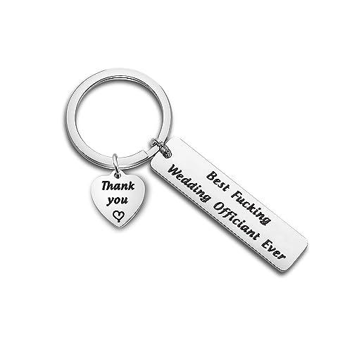 Amazon.com: MYOSPARK Llavero oficial de boda, regalo de ...