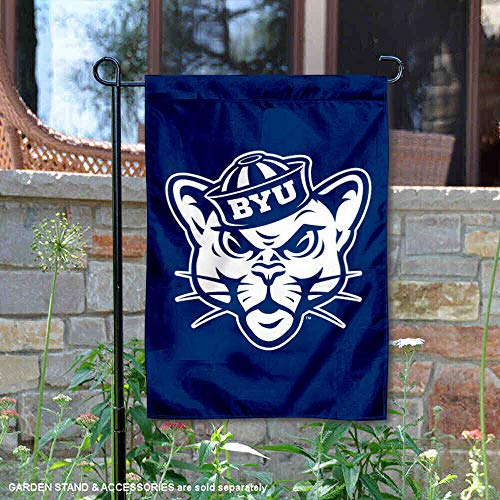 Brigham Young Cougars Vintage Garden Flag and Yard Banner