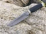 Dagestan, Caucasian Author's Knife, only Handmade. Damask Steel. Accessories - Melchior. Active