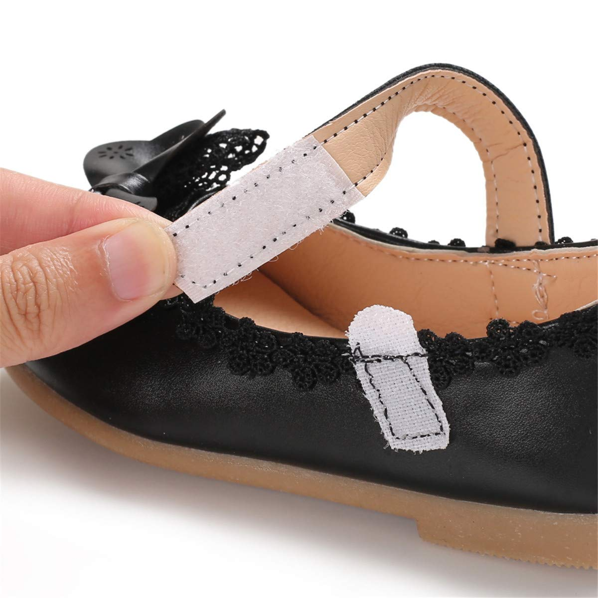 Toddler Little Girls Dress Shoes Ballet Sparkle Wedding Party Mary Jane Princess Flats Shoes for Girls