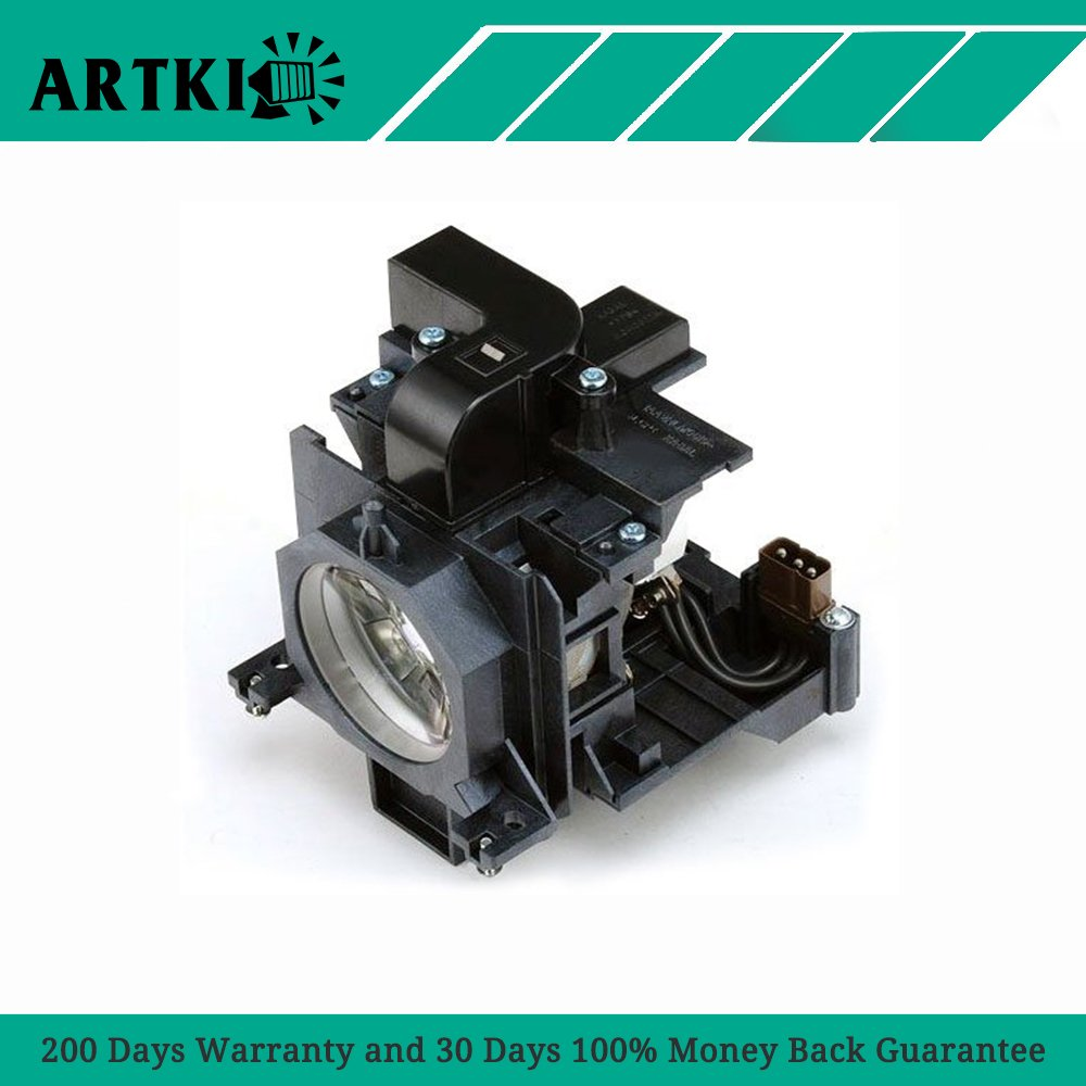 ET-LAE200 Replacement Projector lamp with Housing Fit for PANASONIC PT-EW530E PANASONIC PT-EW630E PANASONIC PT-EW630EL PANASONIC PT-EX500E PANASONIC PT-EX500EL Projectors (By Artki)