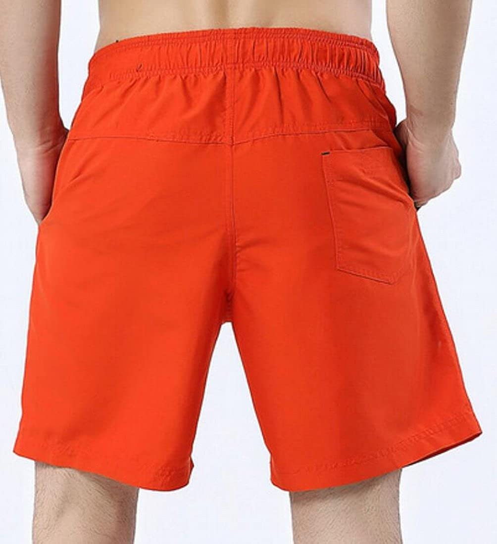 JXG Men Swim Trunks Plus Size Loose Straight Beach Pajama Shorts