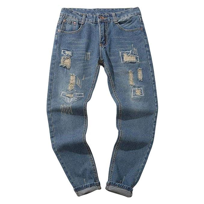 0e44ba5029650 Pantalones Vaqueros Rotos Hombre