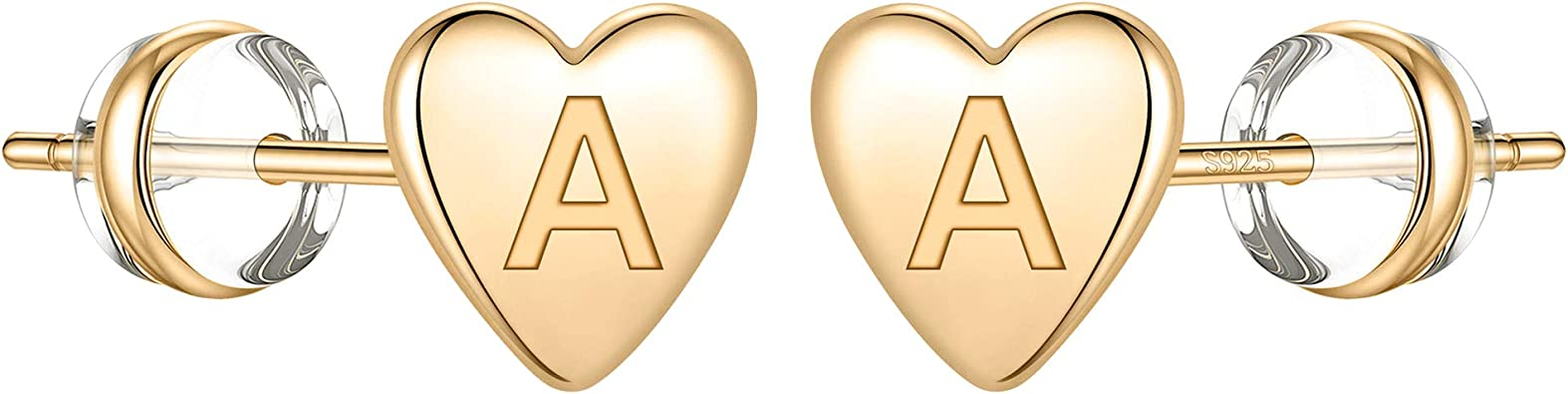 Heart Stud Earrings Dainty Little Heart Stud Earrings Heart Studs 14K Gold Filled and Sterling Silver Available in Rose Gold Filled