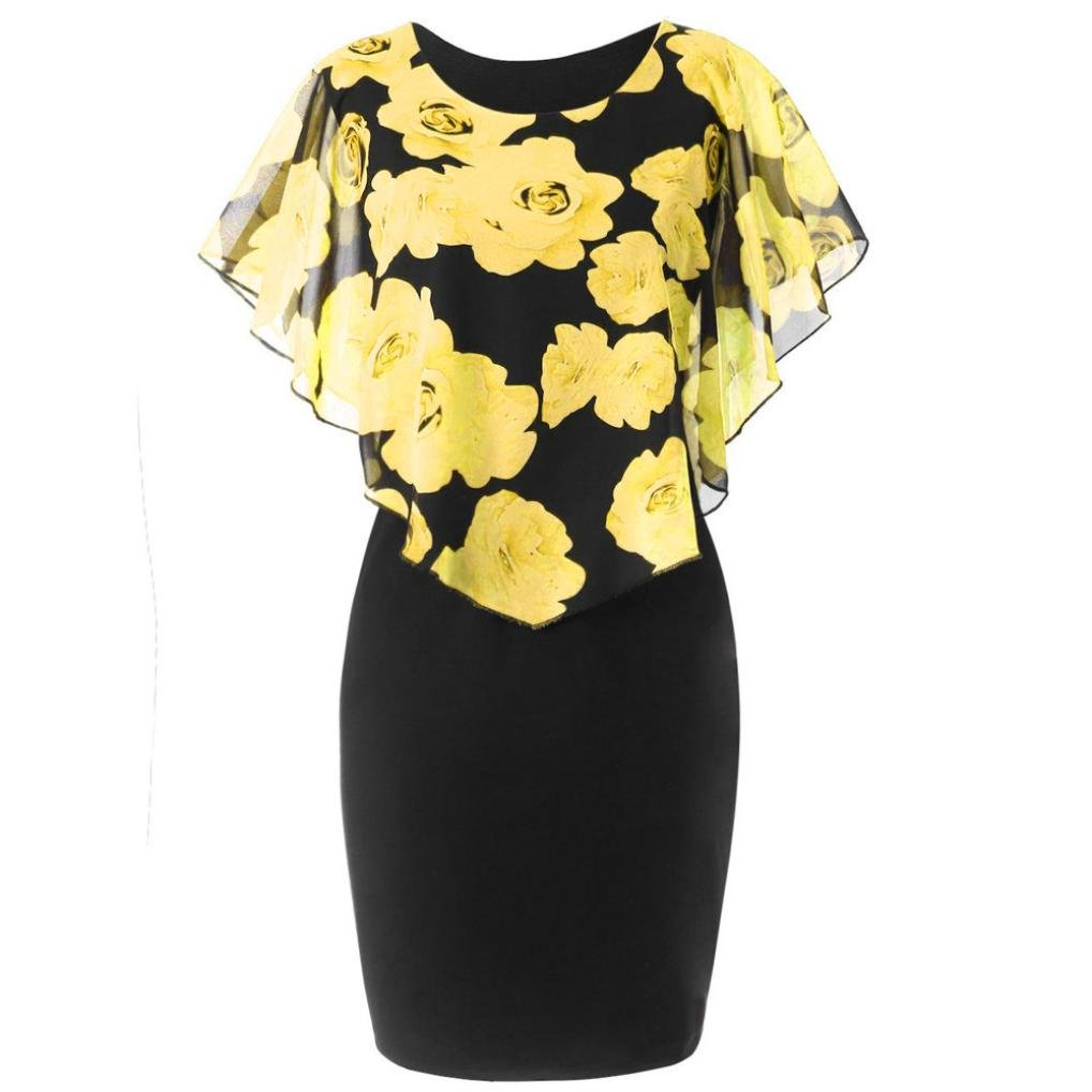 efca8ad6 Material: Polyester,Chiffon, comfortable and soft fabrics when you wear it.  Long tunic tops for women, can be also worn as a t shirt dress