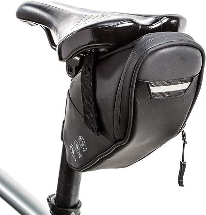 Black Cycling Waterproof Bicycle Saddle Bags Mountain Road Bike Handlebar Bag