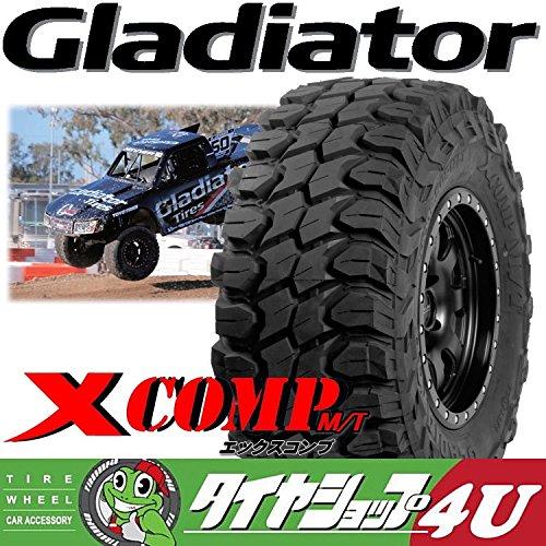 Gladiator ラジアルタイヤ XCOMP 35x12.5R22インチ 117Q 10PR 単品 サマータイヤ MUD B01EMY42EE