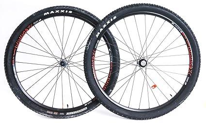 c3596dc28 Image Unavailable. Image not available for. Color  DT Swiss X 1700 Spline 2  29er MTB Bike Wheelset XD Driver + Tires ...