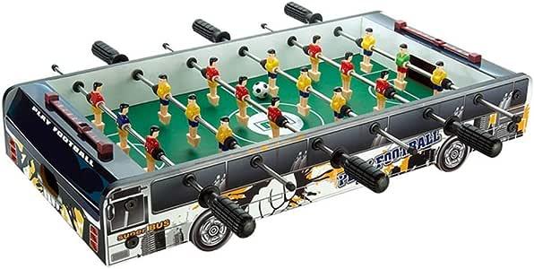 Mesa de fútbol para niños Juguetes educativos para niños Juguetes para niños de 3 a 10 años Regalo de juguete para 6 asientos Mesa de fútbol para máquina de regalo Familia de
