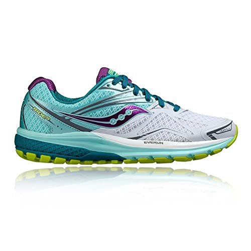 Amazon.com | Saucony Womens Ride 9 Running Shoes - SS17-5 | Road Running