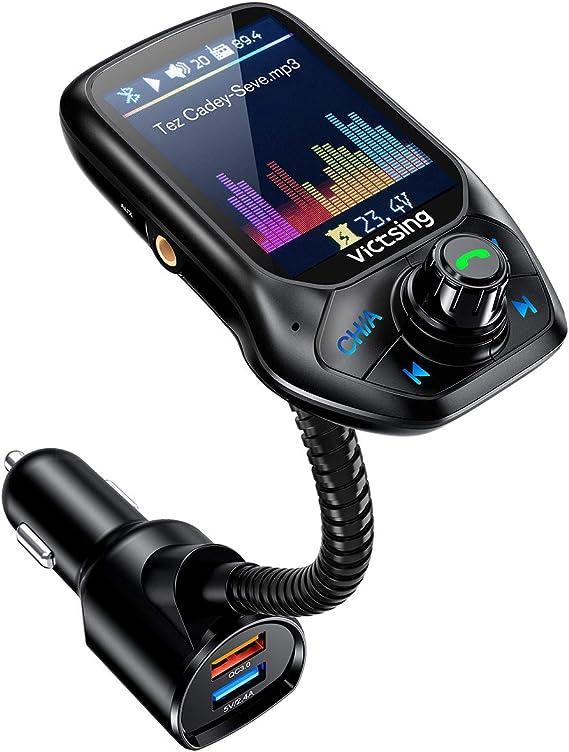 Transmisor fm bluetooth para auto