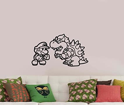Incredible Amazon Com Video Game Wall Decal Vinyl Sticker Decorations Download Free Architecture Designs Scobabritishbridgeorg