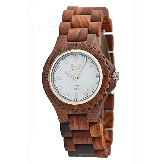Reloj Green Time Mujer Madera Sándalo Wood zw009 a