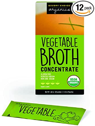 Savory elección Caldo de verduras concentrado orgánico ...
