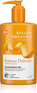 product image for Avalon Organics Cleansing Gel, Intense Defense with Vitamin C, 8.5 Oz