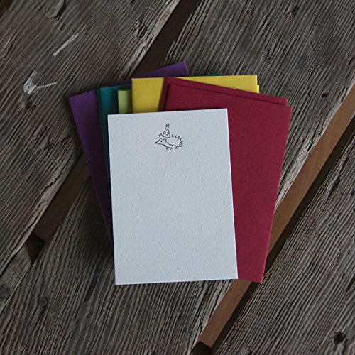 Hedgehog Stationery Set, 10 pack, letterpress printed eco friendly. (Letterpress Baby Shower Invitations)