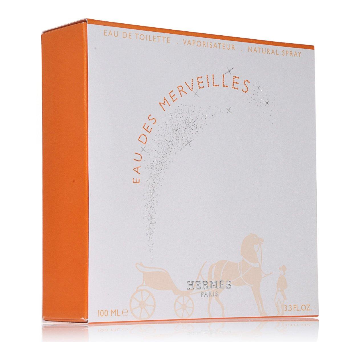 Eau Des Merveilles By Hermes For Women. Eau De Toilette Spray 3.3 Oz.