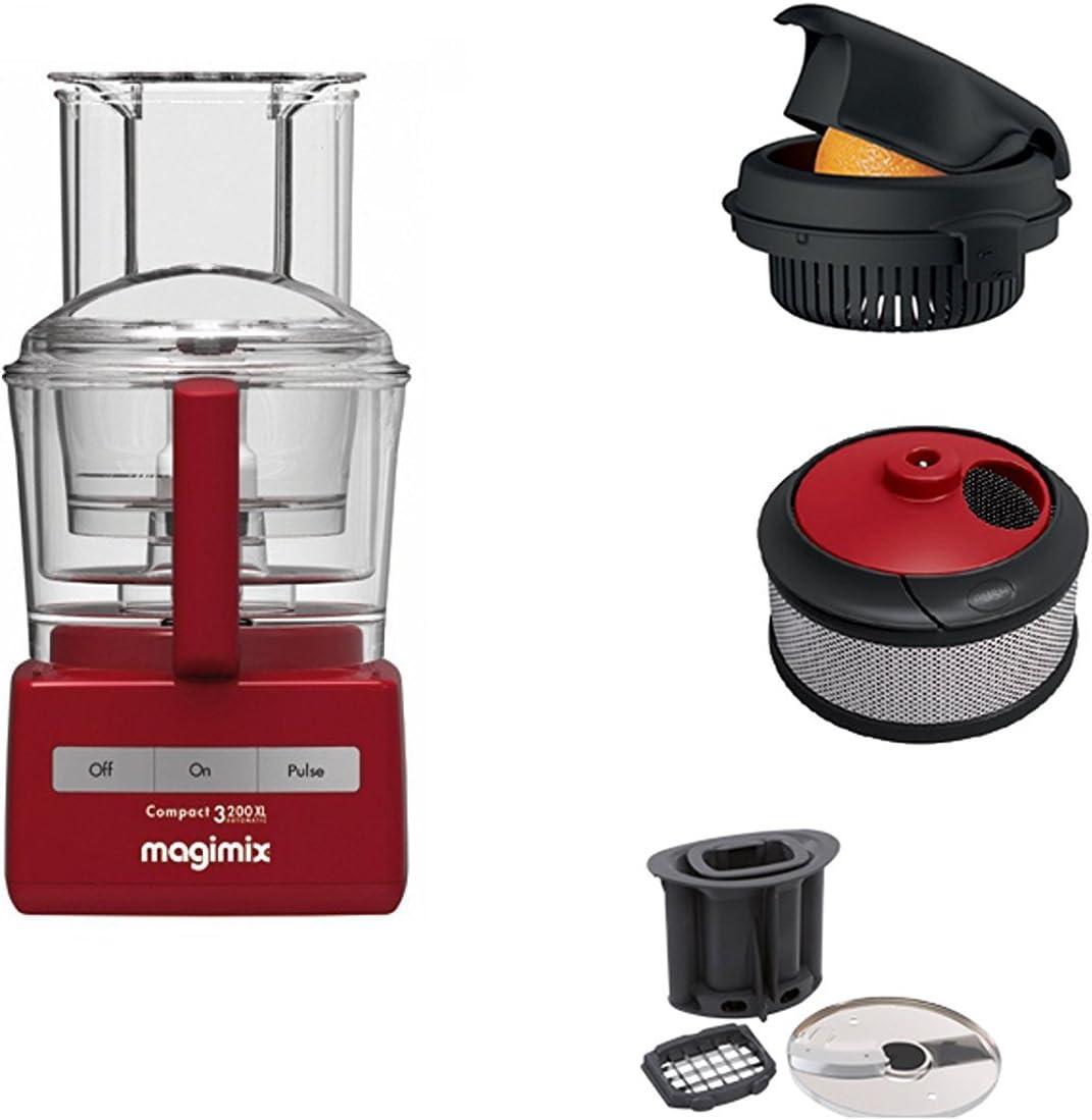 Magimix Robot 3200 XL incluido de accessoro para cubitos y patatas _ Exprimidor y accesorio de licuadora: Amazon.es: Hogar