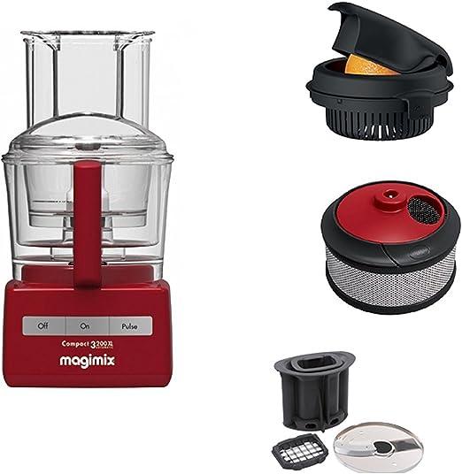 Magimix Robot 3200 XL incluido de accessoro para cubitos y patatas Exprimidor y accesorio de licuadora: Amazon.es: Hogar