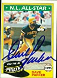 Dave Parker autographed Baseball Card (Pittsburgh Pirates) 1981 Topps #640