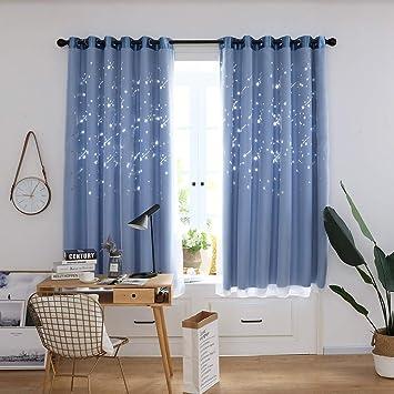 Amazon.de: FeiliandaJJ 200x100cm Vorhang Kinderzimmer mit ösen ...