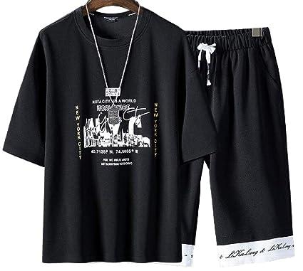 dahuo - Chándal para Hombre de Manga Corta y Pantalones Cortos, 2 ...