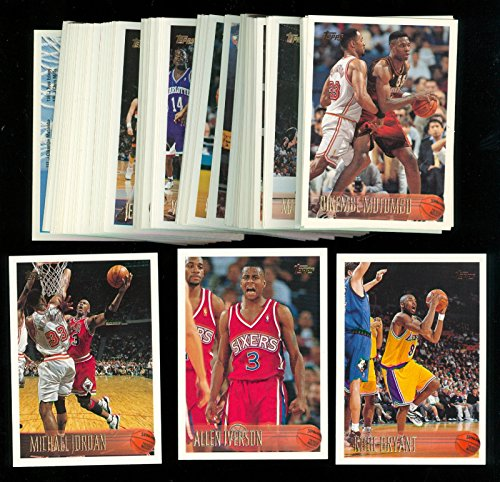 2 Basketball Card Box Series - 1996-97 Topps Basketball Complete Series 2 Two Set Kobe Bryant #138 Rookie Card