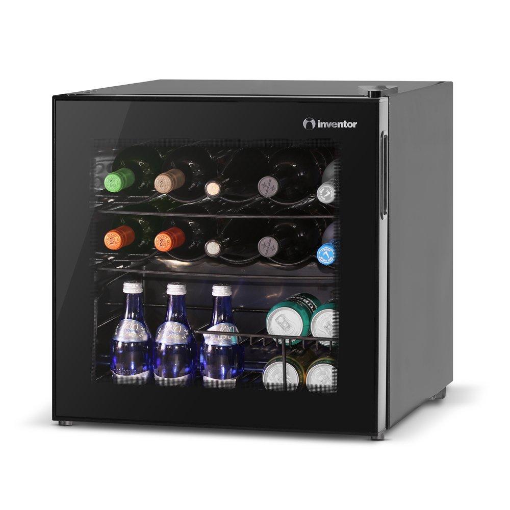 Inventor Vino Wine Cooler Fridge 49l Glass Door Amazon