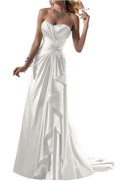 Amazon vestidos de novia blancos