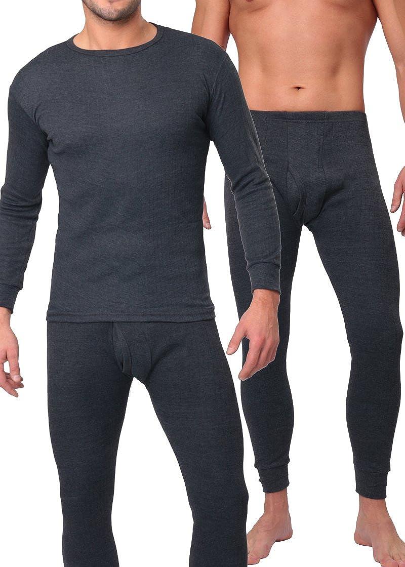 MT® THERMO LIGHT - Set de ropa térmica para hombre - Camiseta y pantalón - Fibra climática que abriga, es suave y transpira - Calidad de celodoro ...