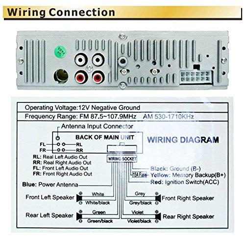 61MkkjsTjCL panlelo � pa6219eur, single din in dash receptor de radio de coche panlelo wiring diagram at creativeand.co