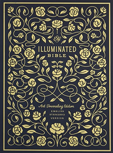 Illuminated Column (ESV Illuminated Bible, Art Journaling Edition (Cloth over Board, Navy))