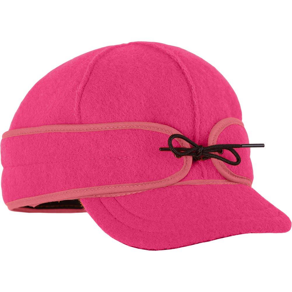 Stormy Kromer Womens Ida Kromer Blaze Pink Hat - 7 5/8