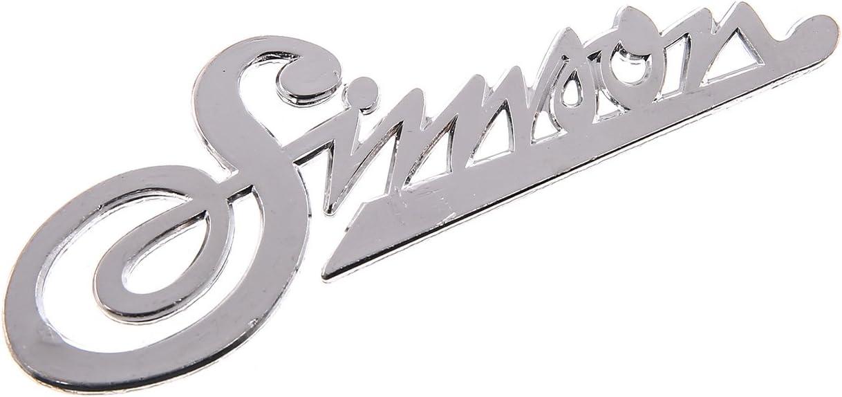 Firmenschild Simson Am Frontschild Kr50 Schriftzug Aluminium Silber Auto